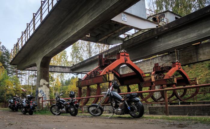 Kimolan kanava moottoripyörä motocatching retkikohde  (1 of 1)