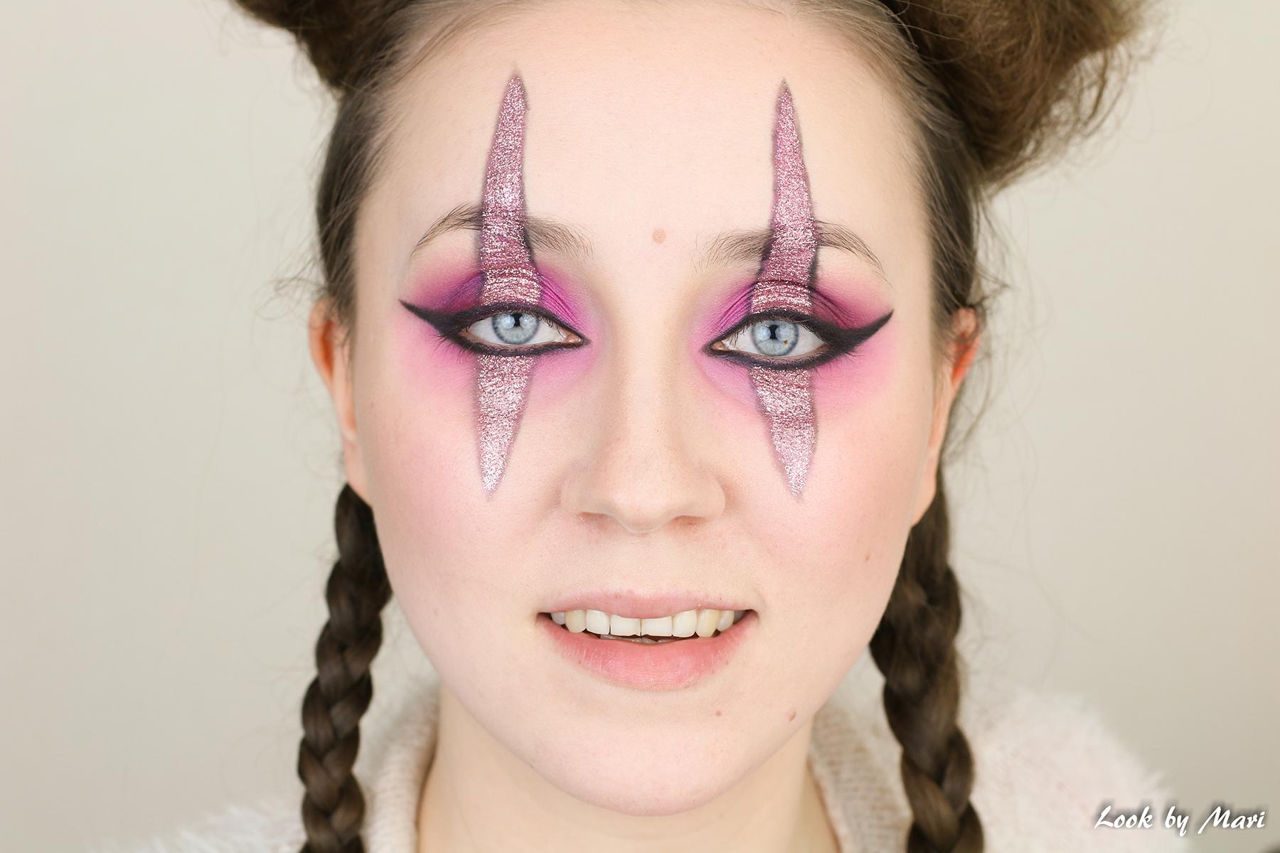 9 pelle meikki tutoriaali helppo aloittelijalle kimaltava pinkki blogi