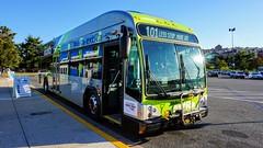 Montgomery County Transit Ride On extRa 2017 Gillig Low Floor BRT Plus Diesel #44068D