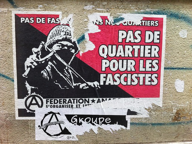 pas de quartier pour les fascistes
