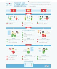 Love Quotes : The perfect online profile infographic...