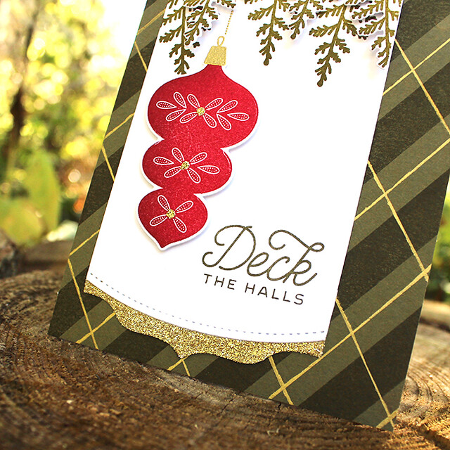 Deck The Halls Ornament Card 2