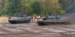 MBT Leopard 2 A6  and IFV PUMA