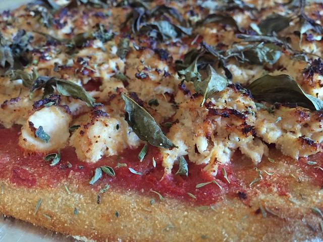 Cod Roe / Albacore Tuna Pizza