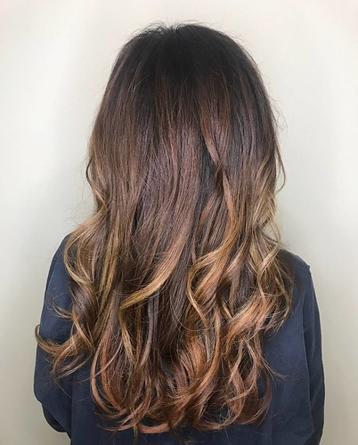 Love this !! Warm #copper tones by Lydia @lydia_meeks #shadesEQ #hairenvy