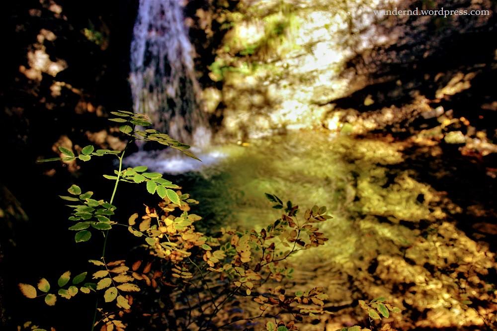 Burgeralm - Wasserfall