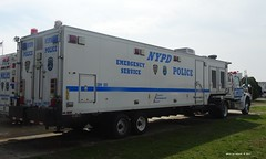 NYPD - 2007 Sterling Actera Tractor 7002 with ACSI Decon Unit 3599 - ESU (2)