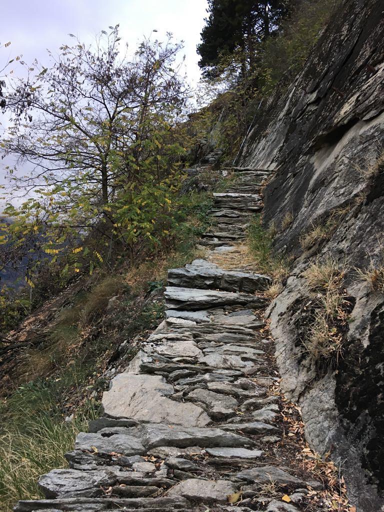 Wanderung Lötschberg Südrampe 28./29.10.2017