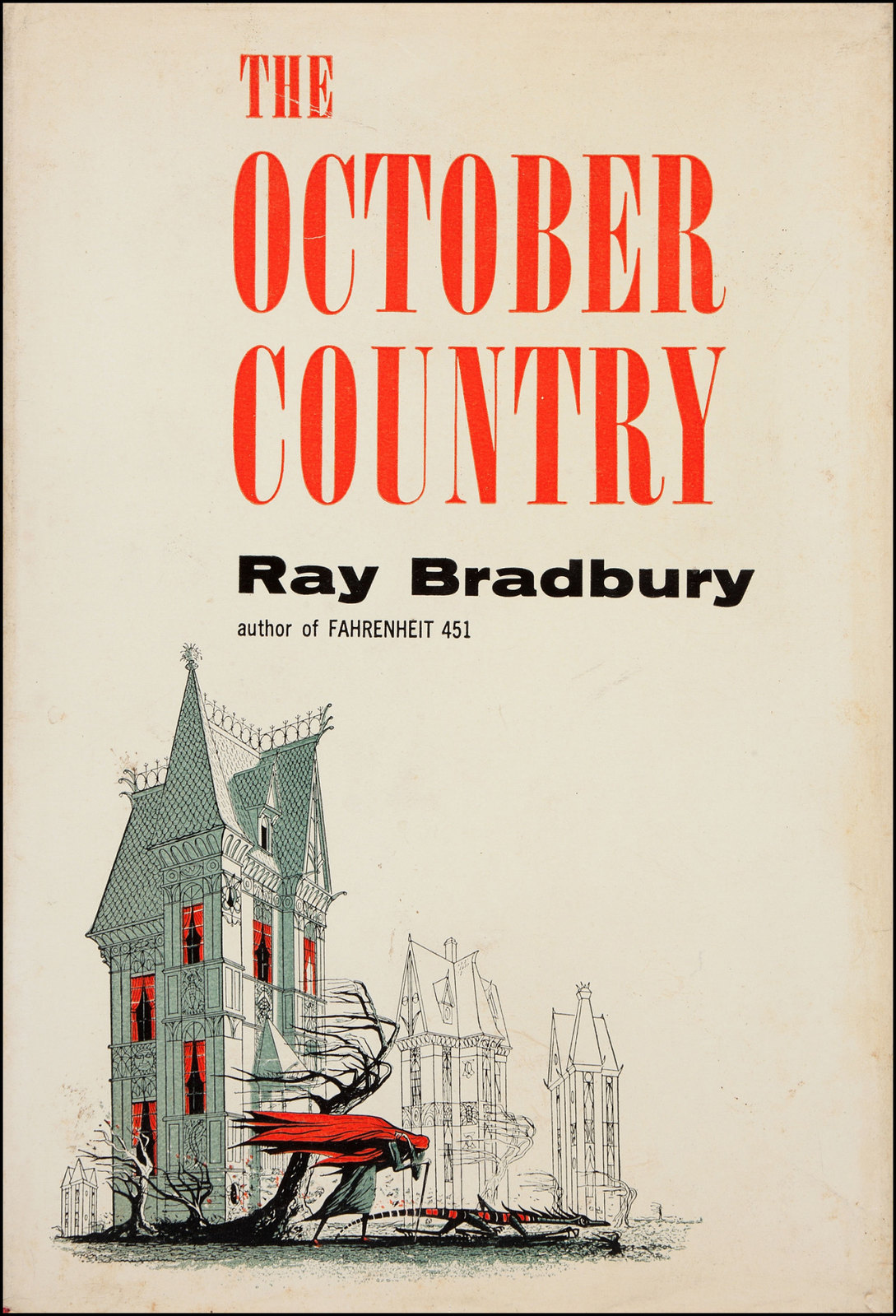 Joseph Mugnaini - The October Country by  Ray Bradbury, 1955