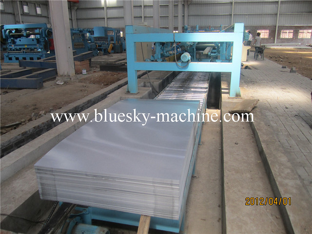 unloading worktable