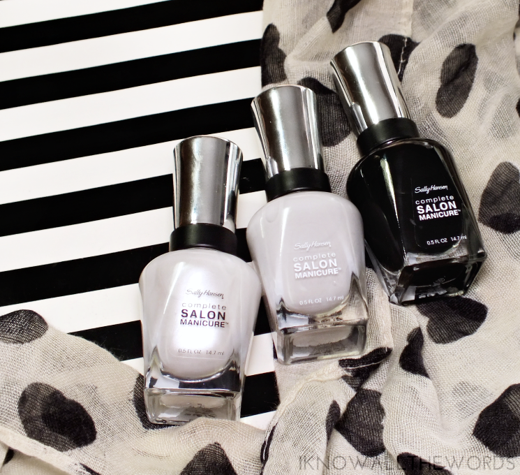 sally hansen black to basics collection (2)