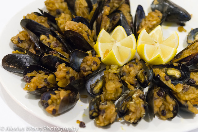 Rice-stuffed Mussels - The Fourth Estate, Washington DC