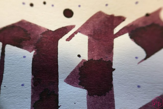 Ink Shot Review @RobertOsterInk Claret @MilligramStore 11