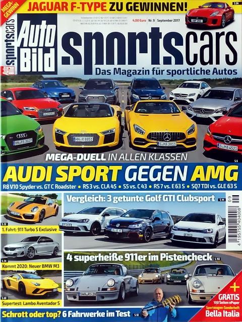 Auto Bild Sportscars 9/2017