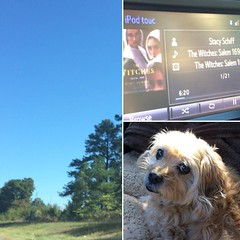 Such a beautiful day for a road trip. #homeagainhomeagain, #thewitches, #stacyschiff, #happyoctober