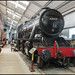 Stanier 2-8-0 at Oxenhope