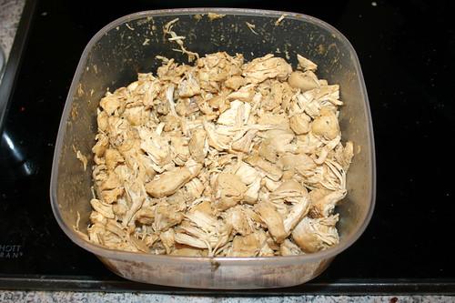 38 - Hähnchenbrustfilet zerfallen / Crumbled chicken