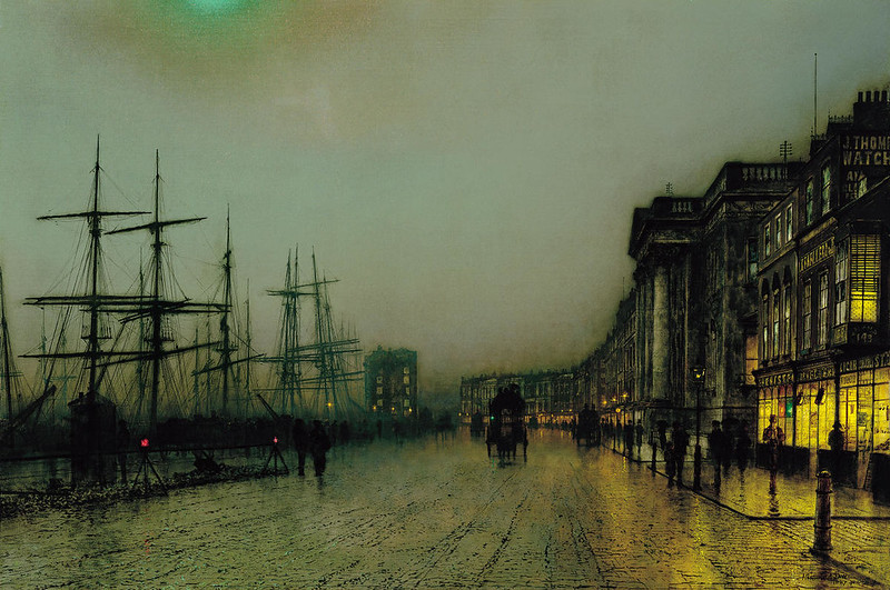 Canny Glasgow by John Atkinson Grimshaw, 1887