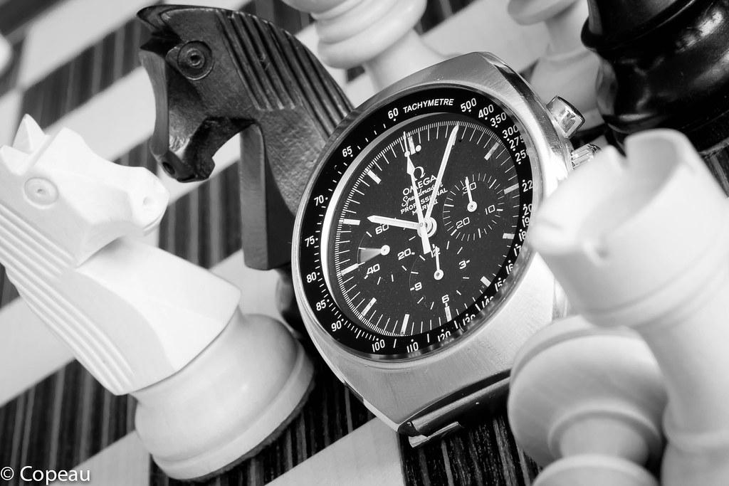 """[1969-75] ST 145.014 - Omega Speedmaster mark II, """"the eagle could have landed"""" 37517574076_4b7af27fe4_b"""