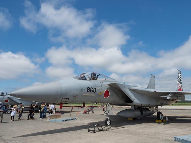 JASDF Chitose AB Airshow 2017 (91) 201SQ F-15J #860