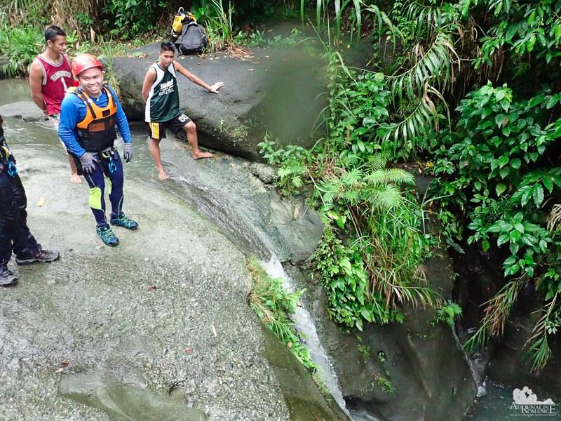 Hesitant to jump