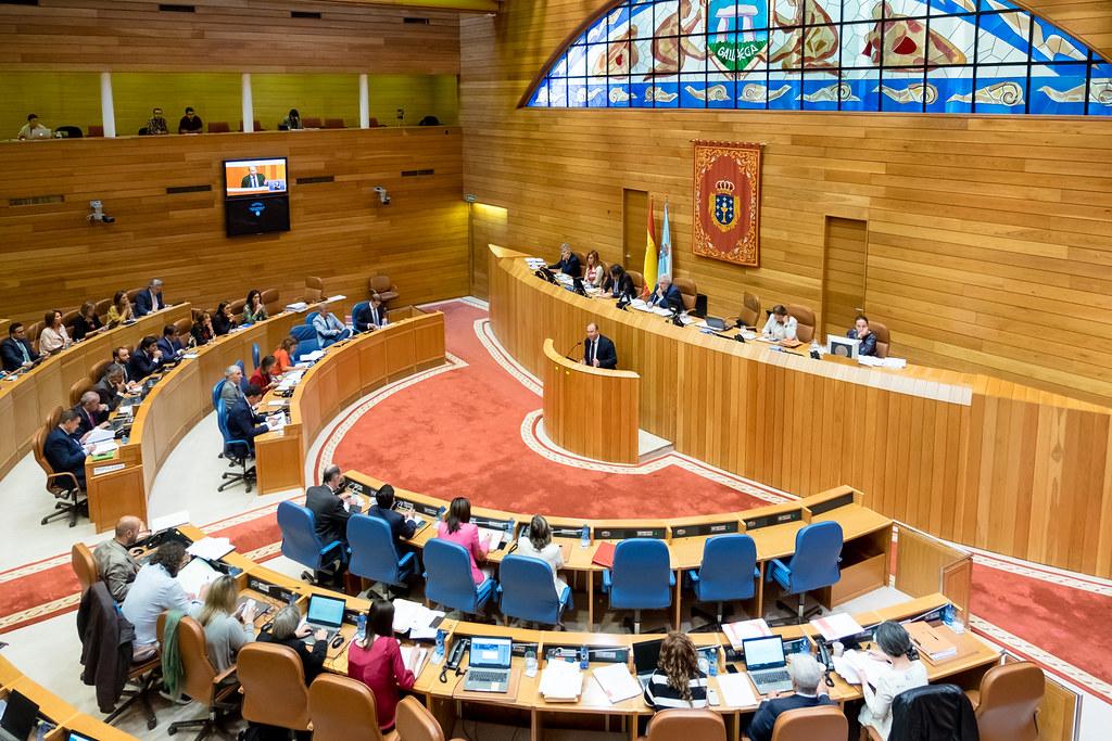 Resultado de imagen de parlamento de galicia