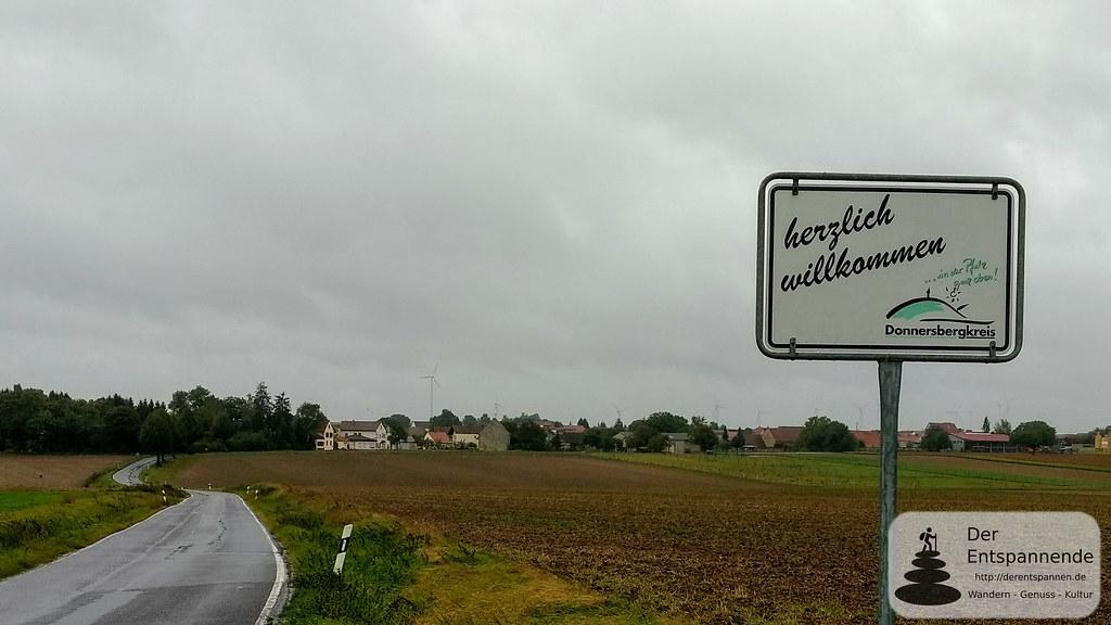 Bei Ilbesheim: Die Pfalz