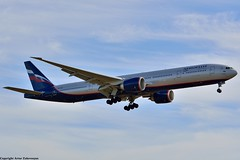 Aeroflot B777-3MO/ER VQ-BUC SVO 2015-10-04 #spotting #споттинг #самолет #plane #planes #aviation #avia #самолеты #boeing #aeroflot #аэрофлот #spotting_su