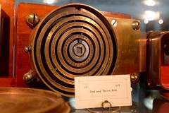 Dial and throw bolt