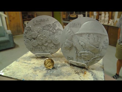World War I commemorative coin, designed by Utah sculptor LeRoy Transfield