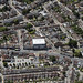 Norwich Road in Ipswich - aerial view