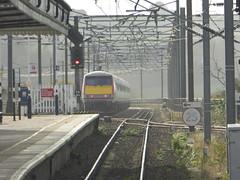 91109 passes Berwick-upon-Tweed (18/10/17)