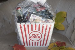 Family Movie Night Gift Bucket