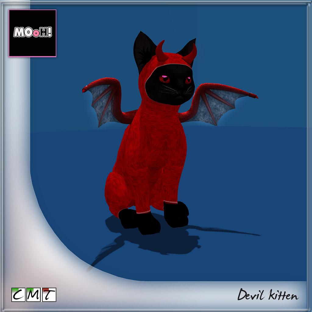 MOoH! Devil kitten - TeleportHub.com Live!