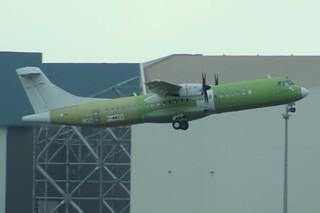 F-WWEG ATR72 Toulouse