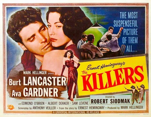 The Killers - 1946 - Poster 1