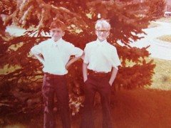 Jeff and Kevin's first communion