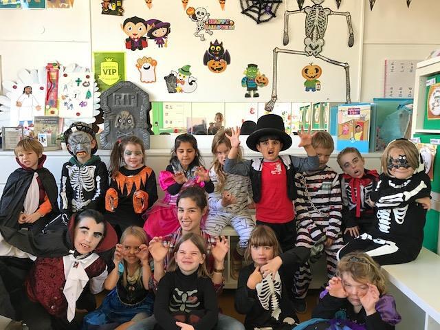 Halloween in het eerste leerjaar Windekind
