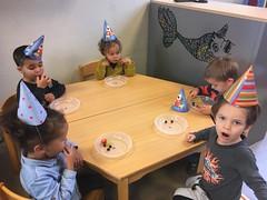 De eekhoornklas: Haytam wordt 3jaar!