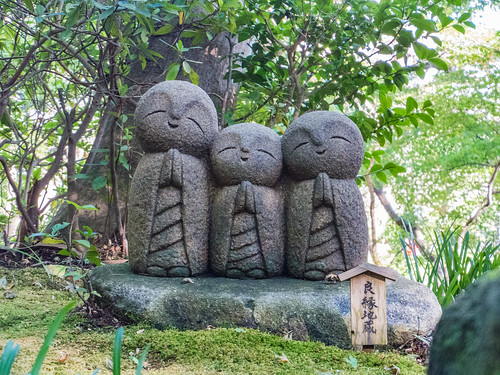 Hase-dera Temple smile of Jizo