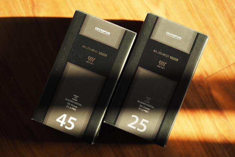 M.ZD 25mm f/1.2 PRO|M.ZD 45mm f/1.2 PRO