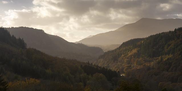 Conwy Valley, Snowdonia, Wales