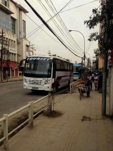 J5 : 25 septembre 2017 : Trajet en bus de Katmandou à Pokhara