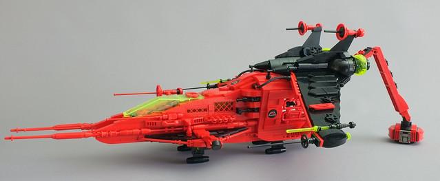 Neo 6956 rear crane