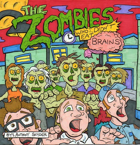 The zombies who didn't eat brains, by artist Anthony Snyder