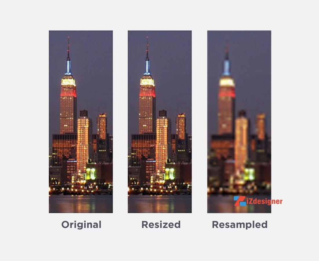 Sự khác nhau giữa Pixel và DPI
