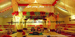 Wedding Event Organization Items in Bangalore