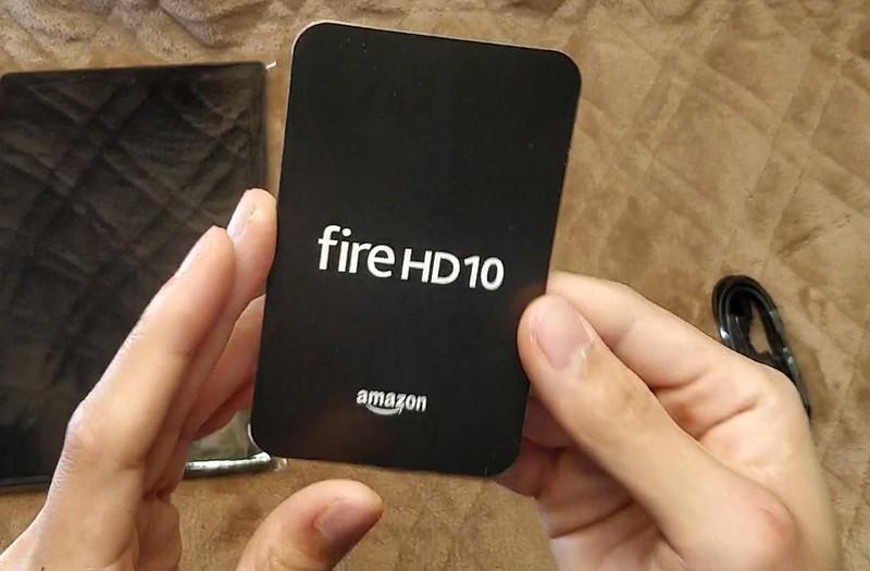 Amazon Fire HD 10 2017 開封レビュー (10)