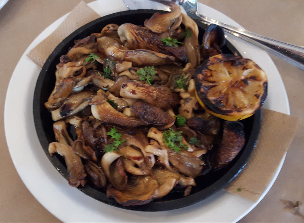 wood-fired mushrooms, Stella, Mass Ave, Indianapolis