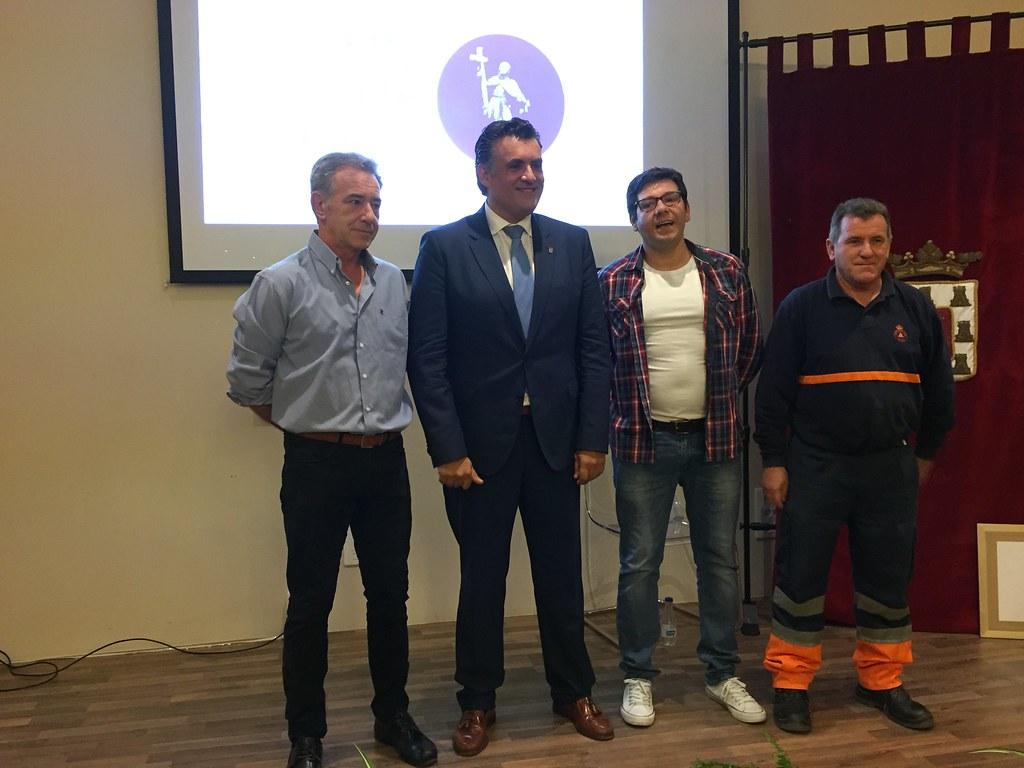 El Ayuntamiento de Coria premia a las Agrupaciones de Protección Civil y Cruz Roja en un acto institucional